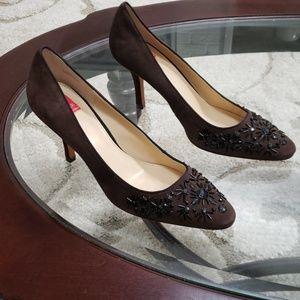 New Oscar de La Renta OSCAR size 10 brown heels
